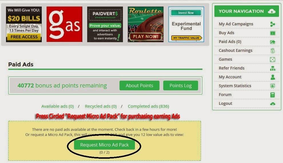 مشکل Micropayments isvs Advertising
