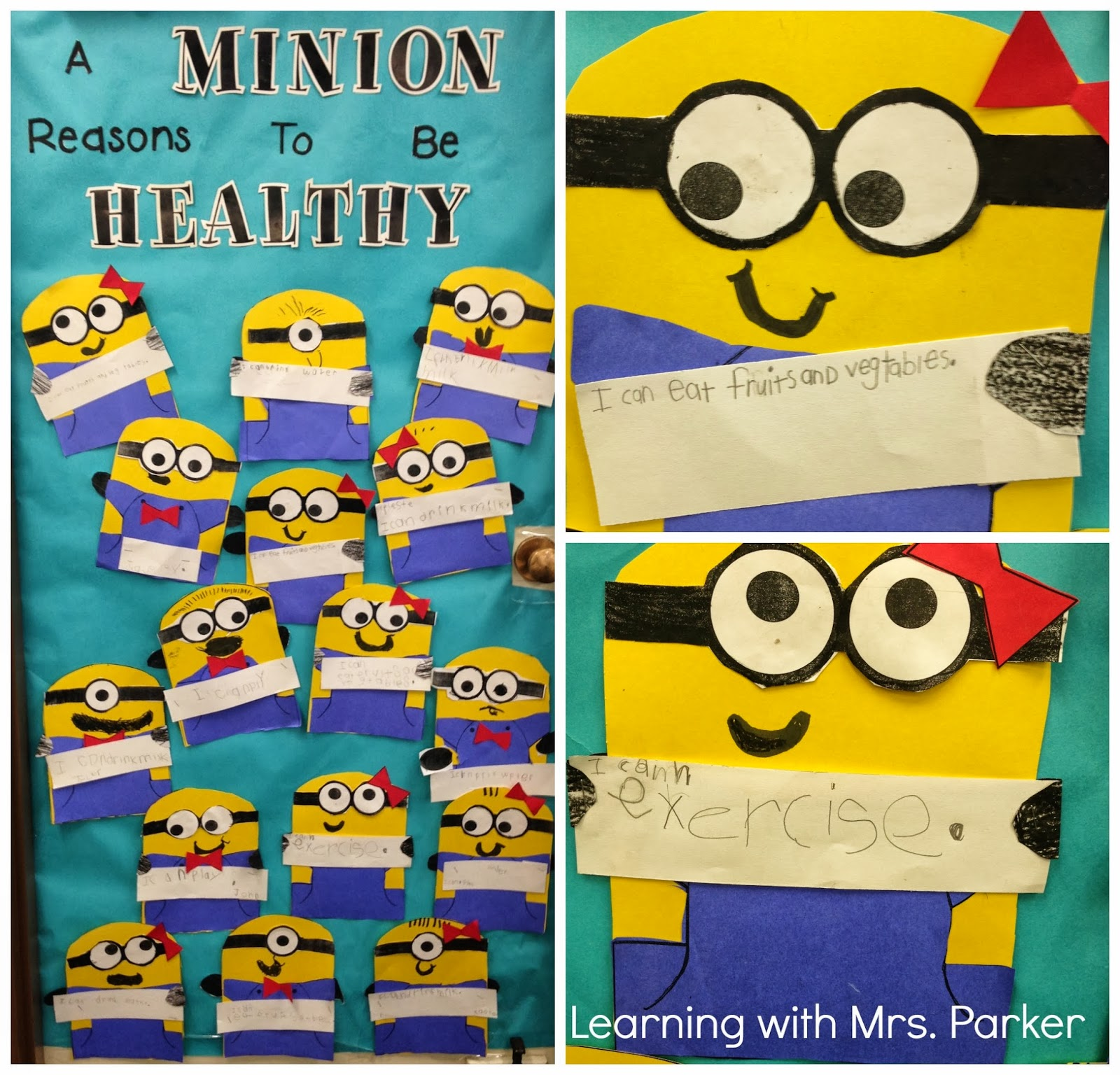 Gallery For gt Red Ribbon Week Door Decorating Ideas Minions