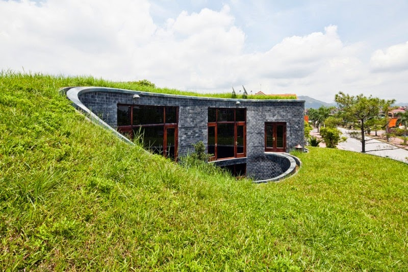 Unique Stone Green Roof