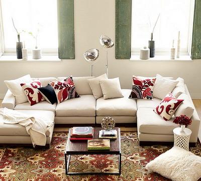 Decorando dormitorios fotos de cojines decorativos para salas - Cojines grandes para cama ...