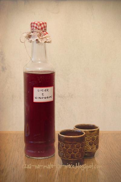 likier z winogron DIY