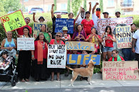 Winnemem Wintu Protest Calif. Gov's Water Summit