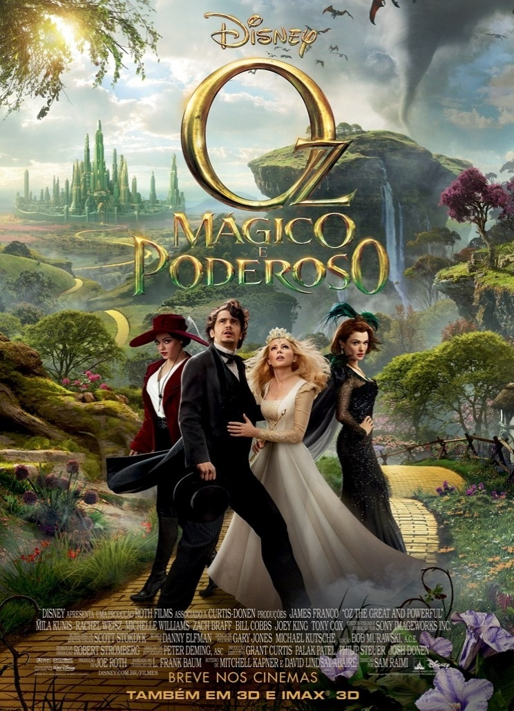 Oz,Mágico e Poderoso (Oz Great and Powerful) Dublado   Torrent