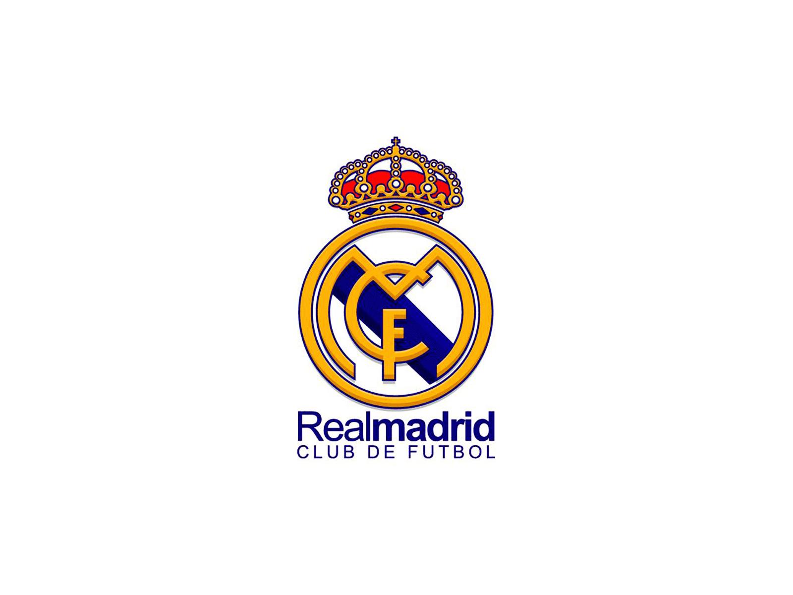 photos of real madrid logo