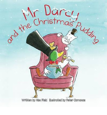 Picture Book Review of Mr Darcy and the Christmas Pudding by Alex Field and illustrated by Peter Carnavas
