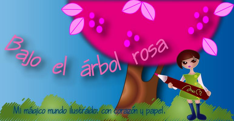 Bajo el árbol rosa