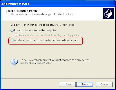 printer sharing in windows 7