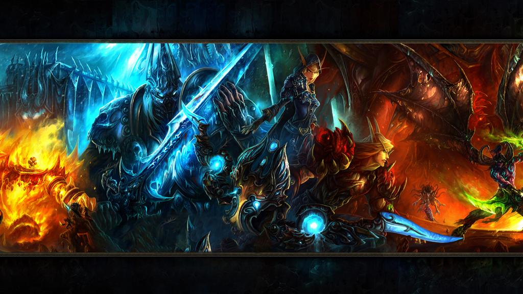 World of Warcraft HD & Widescreen Wallpaper 0.0276268014144012
