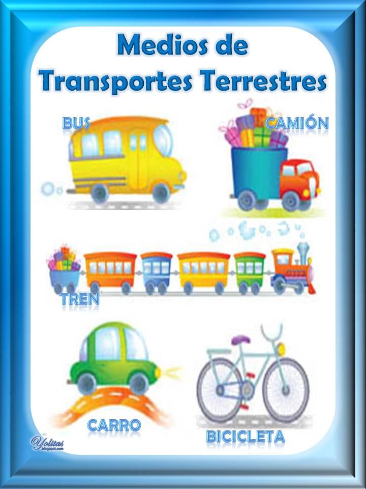 Montage - Los Medios de Transporte