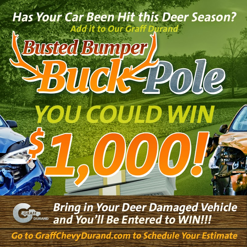 Graff Durand's Busted Bumper Buck Pole Contest!