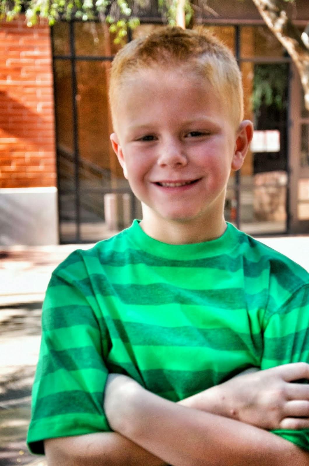 Hewitt...Age 8