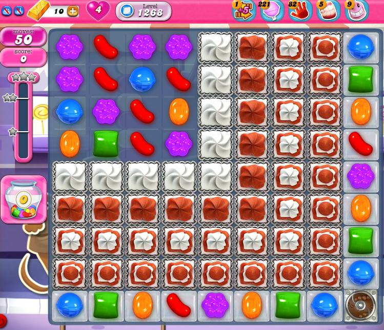 Candy Crush Saga 1268