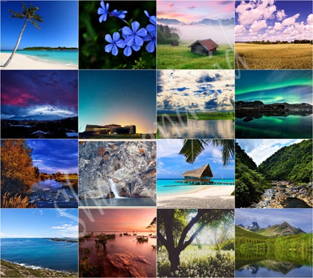Natural Beauty 001 Wall Pack Free Download (Wallpaper)