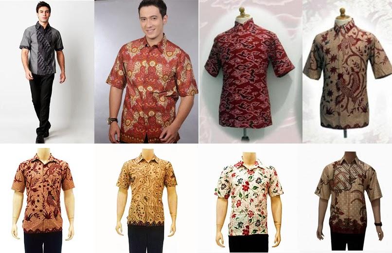 Contoh Gambar Trend Fashion Baju Batik Pria 2014 Info Wandhira