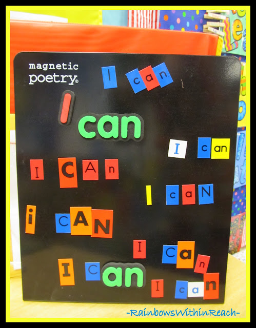 photo of: Affirmation and Sight Words: I Can, I Can, I Can!
