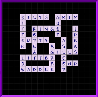 Binweevils Crossword Answers Level 2 - General (Part TWO)
