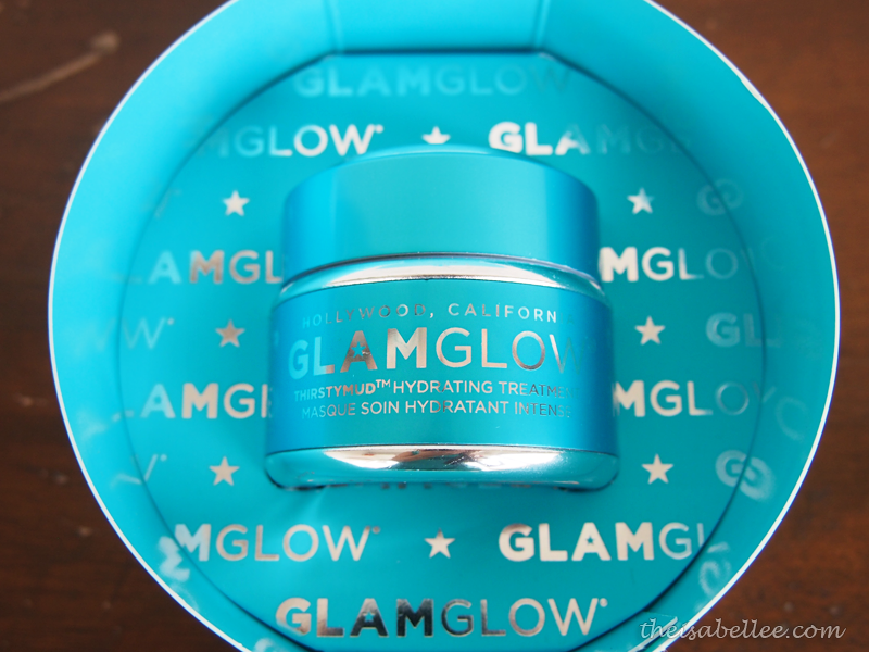 GlamGlow Thirstymud Hydrating Treatment blue jar