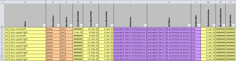 Fig+11.0+Coordinates+Worksheet bimfix blog cobie and autodesk revit  at creativeand.co