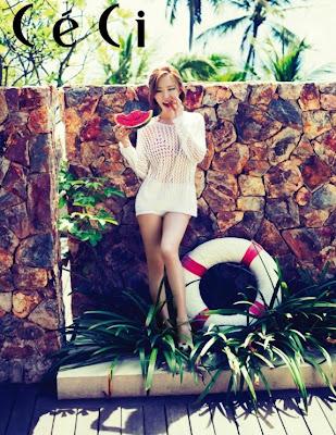 Ga In Brown Eyed Girls - Ceci Magazine June Issue 2013