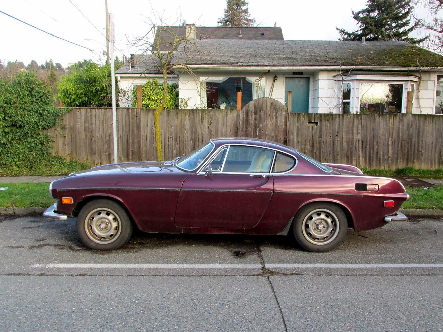 Seattle's Classics: 1972 Volvo 1800E