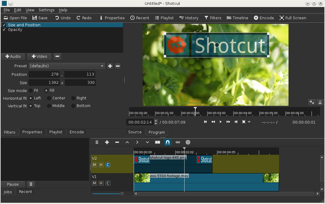 Shotcut - Video Editing