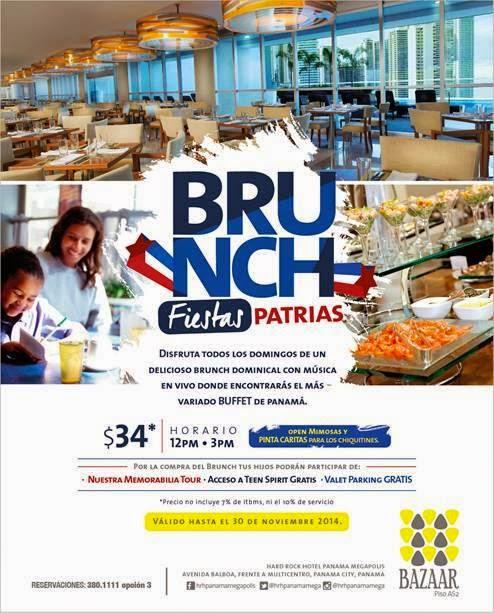 Brunch Fiestas Patrias.