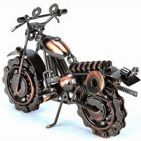 gambar motor unik dari rantai motor