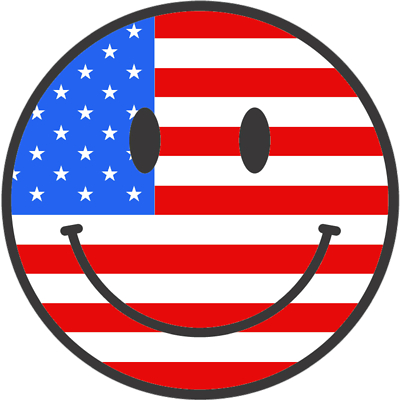 Smileys for Fourth of July | Smiley Symbol