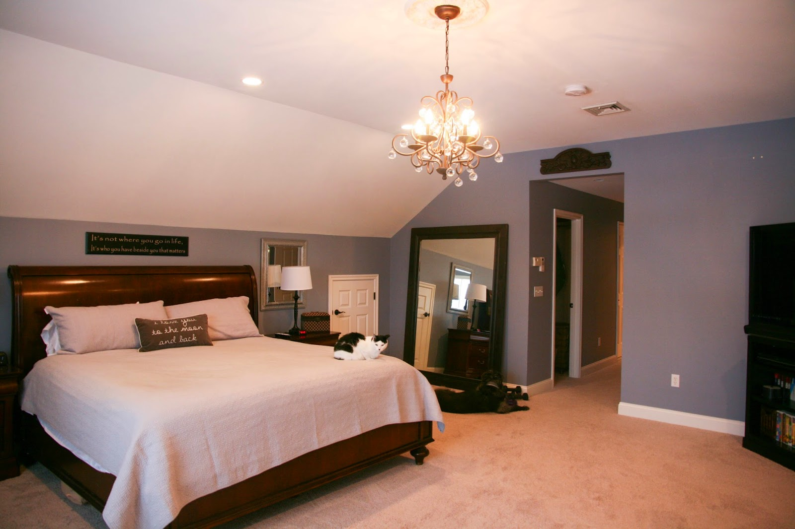 Bless Your Heart Master Suite Changes