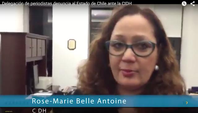 [VIDEO] Entrevista a presidenta CIDH por denuncia por condena de cárcel contra directores de El Ciudadano