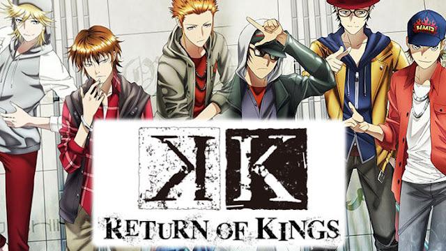 Jadwal Tayang Untuk Anime K: Return Kings Telah Terungkap