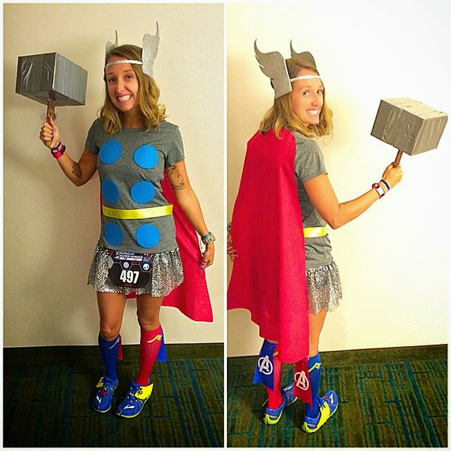 runDisney Thor Costume