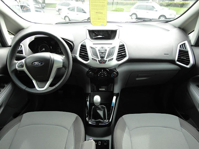 Nova EcoSport FreeStyle 2013 - interior