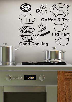 vinilos decorativos para la cocina
