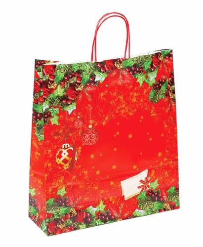 Borse Di Carta Stampate : Bellissime scatole natalizie su semprepronte il bosco