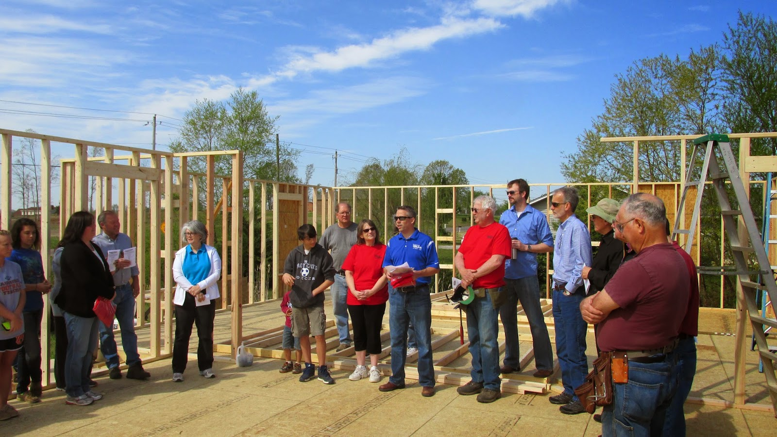 Thrivent Builds with Habitat for Humanity 2014