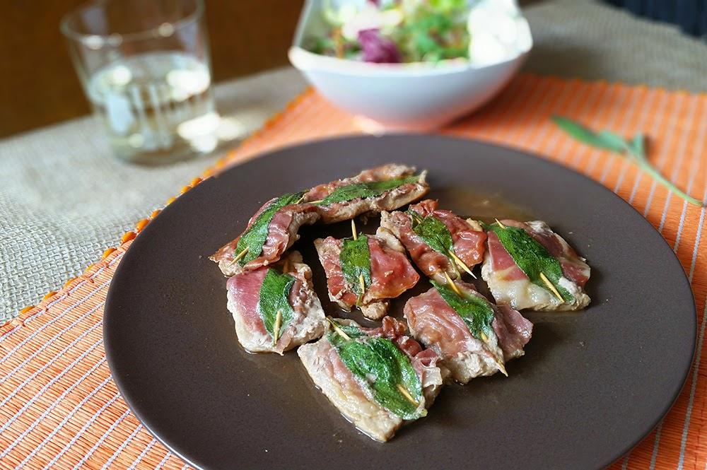 Cuoche clandestine saltimbocca alla romana for Carne tipica romana