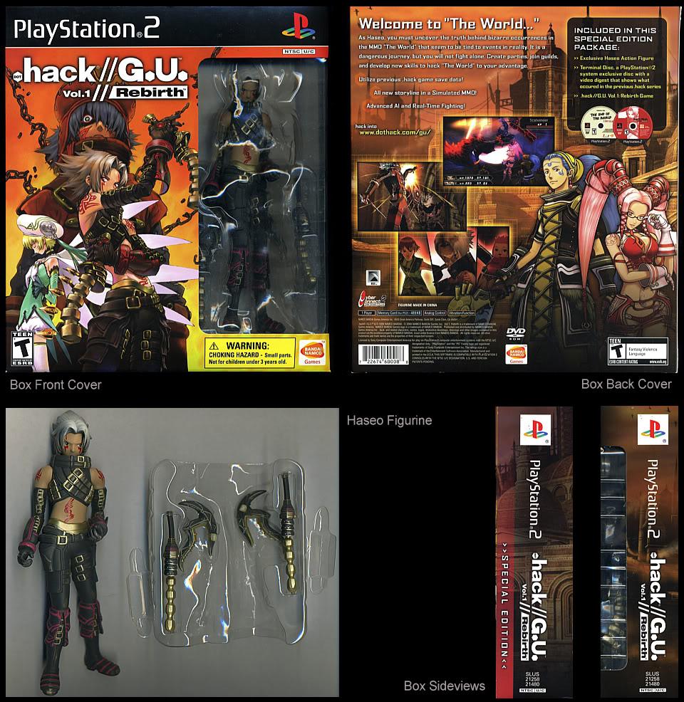Playstation 2 Collector: Special edition dot.hack//GU vol ...