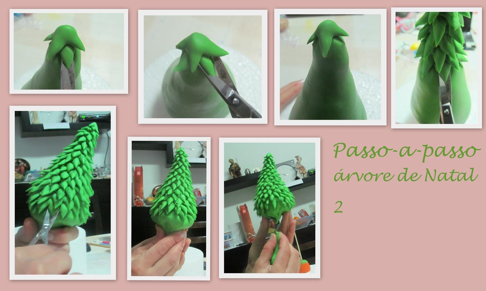 Cake Design Passo A Passo : Passo a passo - arvore de Natal - Lara Correia, Cake Girl