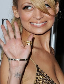 Nicole Richie Tattoos Designs