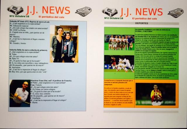 J.J. NEWS El periódico del cole