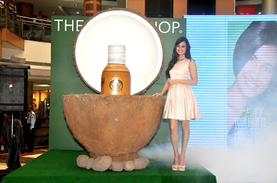 Dia Mirza's Photo shoot at 'The Bodyshop Coconut Hair Oil'  Launch event