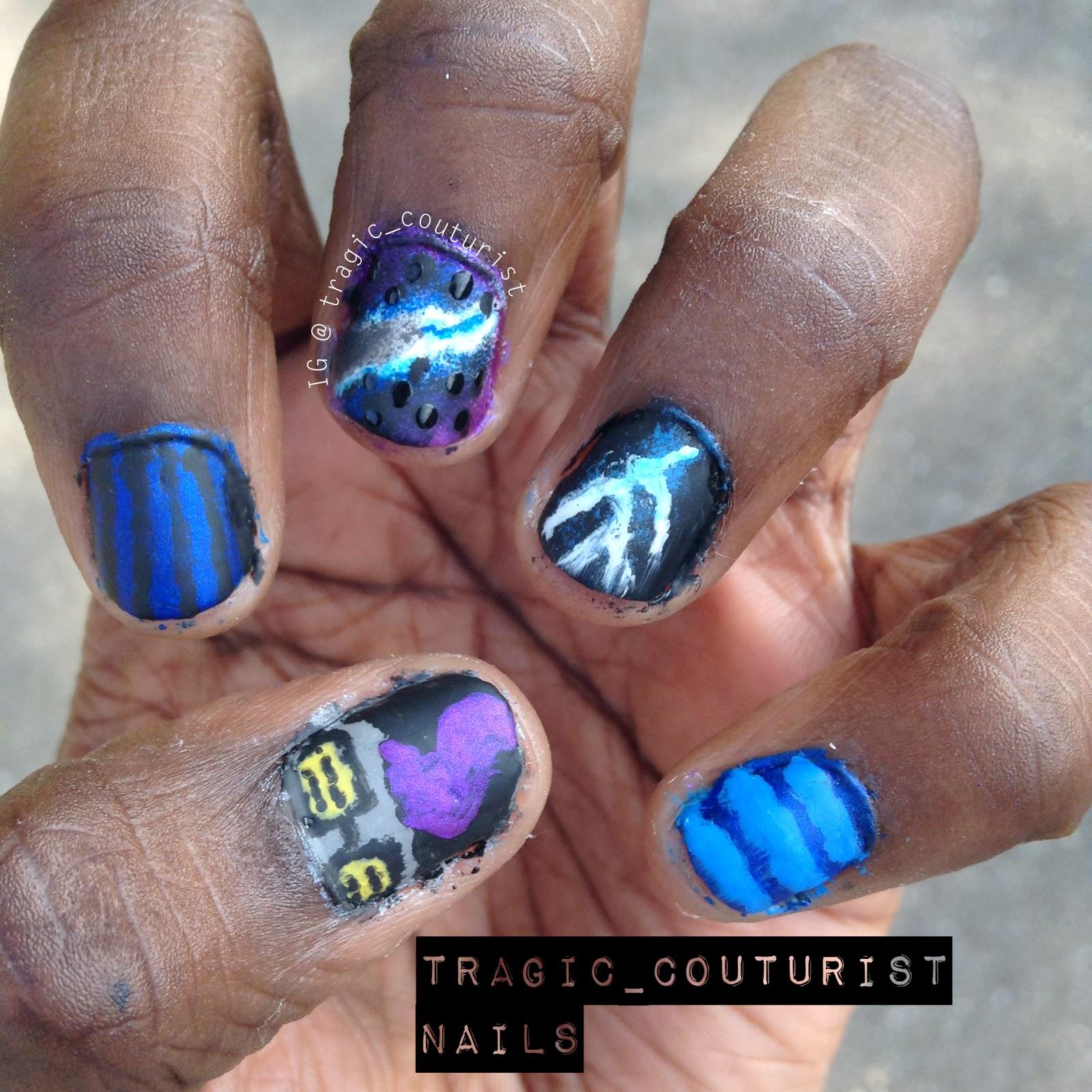 Eridan Ampora Nail Art
