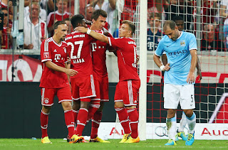 Hasil pertandingan Bayern Munich vs Manchester City