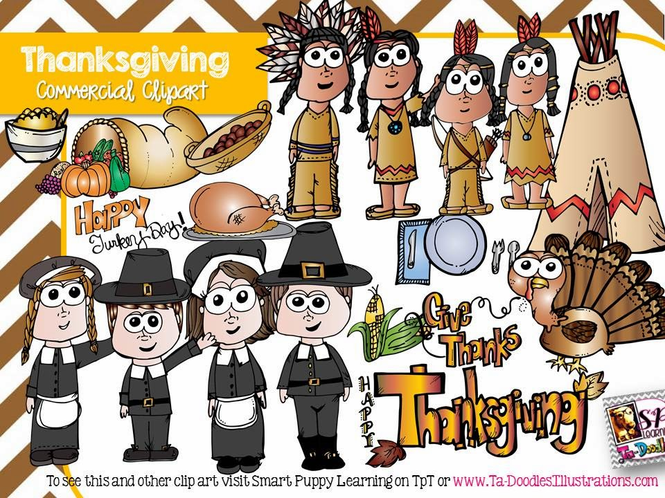 http://www.teacherspayteachers.com/Product/Thanksgiving-Kid-Clip-Art-1469294