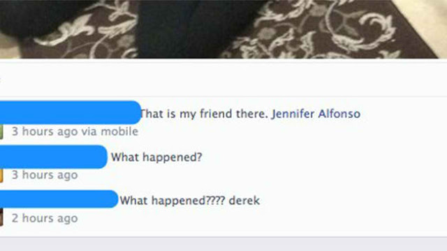 Derek Medina's Facebook post which showed the dead body of his wife Jennifer Alfonso, who he allegedly killed. via Facebook