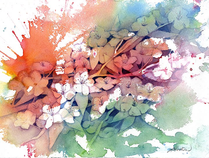 Negative Painting, Positive Thinking in Watercolour