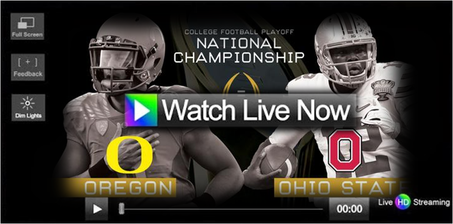 ncaa football live streaming tv