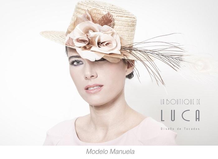 Colección de tocados La Boutique de Luca