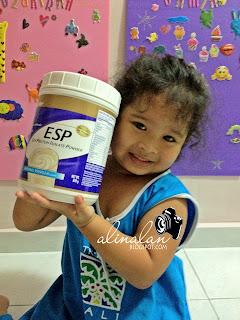 Untuk mendapatkan kesan yang OPTIMUM dalam pengambilan vitamin, amalkan bersama pengambilan 3 sudu protein ESP setiap hari!